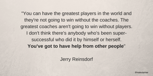 Reinsdorf about need of coachers